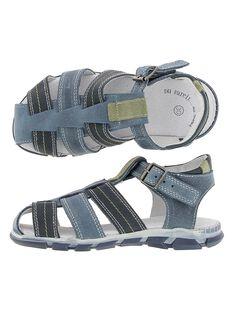 Boys' leather sandals CGSANDGECO / 18SK36W1D0EC218