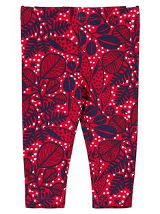 Red Leggings GYITRILEG / 19WI09J1CALF512