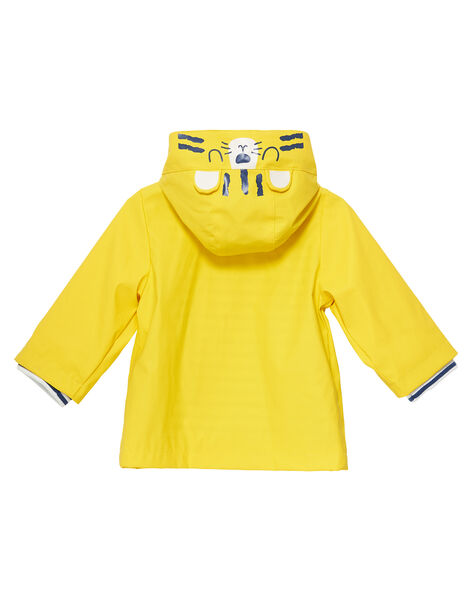 Yellow Rain coat JUGROIMP / 20SG10I1IMPB114