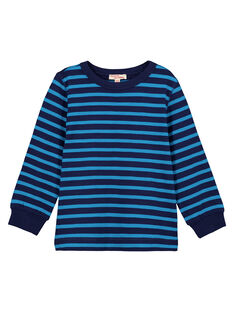 Blue Longsleeve T-SHIRT GOJOTIRIB3 / 19W90242D32C200
