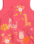 Baby girls' cotton bouffant dress FIBAROB2 / 19SG0962ROB308