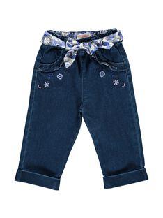 Baby girls' fancy jeans CIKLEJEAN / 18SG09D1JEAK005