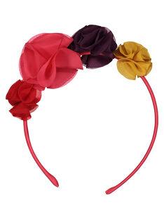 Girls' flower headband FYACASER / 19SI01W3TET099