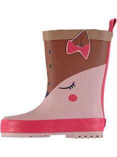 Rose Rain boots GBFBPJAU / 19WK37G2D0C030