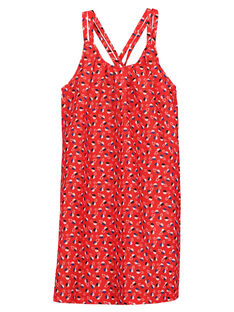 Girls' sleeveless dress FATOROB5 / 19S901L5ROB099