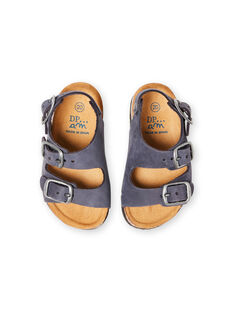 Baby Boy Navy Sandals LBGNUBLEU / 21KK385BD0E070