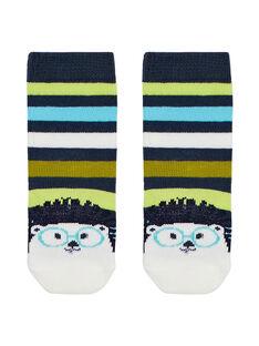 Navy Socks JYUCLOCHO1 / 20SI1011SOQ716