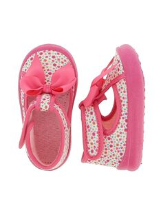 Baby girls' slippers CBFSALBOW / 18SK37X4D0A030