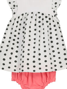 Baby girls' dress and bloomer set FOU2ROB / 19SF05J1ROB000
