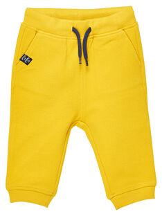 Yellow pants JUJOPAN4 / 20SG1043PANB114