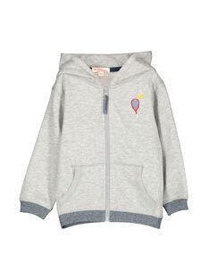 Boys' zipped hoodie FOJOJOH2 / 19S902Y2D33J908