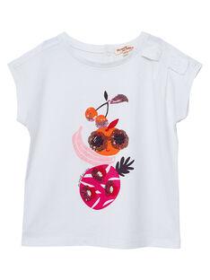 Off white T-shirt JAVITI / 20S901D1TMC001