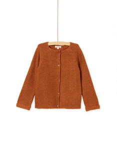 Light brown CARDIGAN KAJOCAR9 / 20W90144D3C420