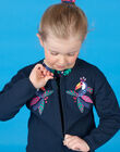 Embroidered long sleeve vest LANAUCAR / 21S901P1CARC205