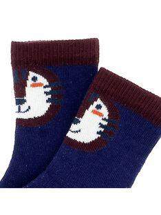 Baby boys' mid-length socks CYUDECHO / 18SI10F1SOQ703