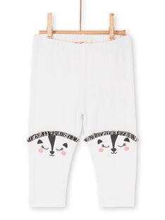 Girl's layette leggings LYIPOELEG2 / 21SI09Y2CAL001