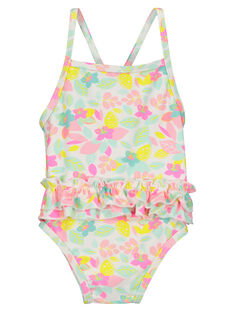 Baby girls' one-piece swimsuit FYIMEREX / 19SI09K4MAI000