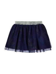 Girls' tulle skirt FANEJUP1 / 19S901B1JUP703