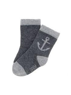 Dark grey Socks CYUJOCHO4A / 18SI10R6SOQ944