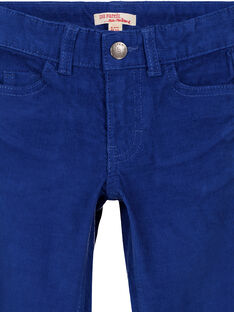 Navy Pants GOJOPAVEL3 / 19W90234D2B720