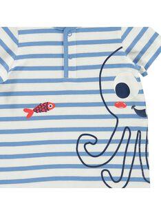 Baby boys' short bodysuit CUPLACOM2 / 18SG10Q2CBL099