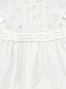Baby girls' formal dress and bloomers CICEROB3 / 18SG09M3ROBA001