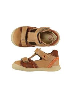 Light brown Salome shoes FBGSALNIA2 / 19SK3881D13804