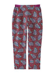 Purple pants JASAUPANT / 20S901Q1PANH708