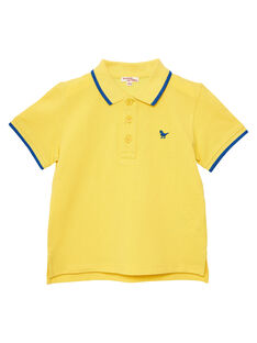 Light yellow Polo shirt JOJOPOL5 / 20S90255D2DB116