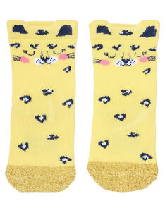 Sunny yellow Socks JYITROCHO / 20SI09F1SOQ102