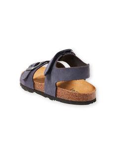 Baby boy navy blue sandals LGNUBLEU / 21KK3656D0E070