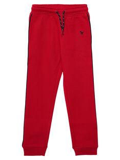 Heather red Jogging pant JOJOJOB4 / 20S90251D2AF520