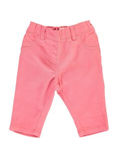 Baby girls' twill trousers CIJOPAN2 / 18SG09R2PAN404