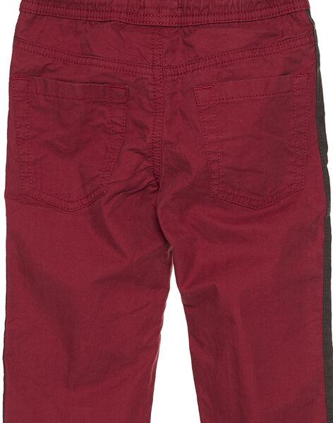 Red pants GOBRUPAN1 / 19W902K2PAN511