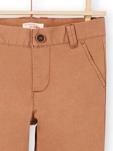 Light brown PANTS MOESPACHI2 / 21W902E1PANI810