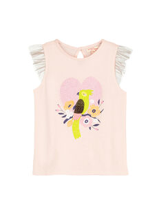 Baby rose T-shirt FAPOTI1 / 19S901C2TMC307