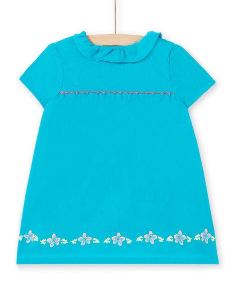 Turquoise DRESS LIVERROB4 / 21SG09Q1ROBC216