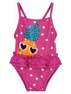 Baby girls' printed swimsuit FYIMER5 / 19SI09K3MAI304