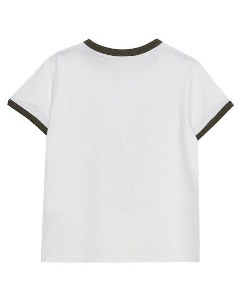 Off white T-shirt JODUTI6 / 20S902O6TMC001