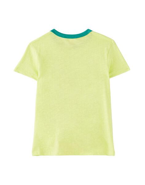 Pale yellow T-shirt JOMARTI5 / 20S902P5TMC103