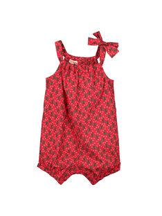 Baby girls' printed romper FIYEBAR / 19SG09M1BAR304