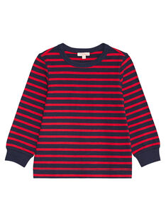 Red LONGSLEEVE T-SHIRT KOJOTIRIB2 / 20W90231D32F518