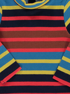 Baby boys' striped polo neck DUPINSOUP / 18WG10P1SPL099