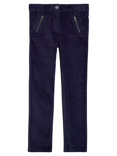 Navy trousers GATRIPANT / 19W901J1PAN070
