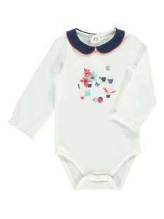 Girls' long-sleeved bodysuit CIDEBODY / 18SG09F1BOD001