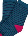 Lagoon blue Socks GYATUCHO / 19WI01Q1SOQ210