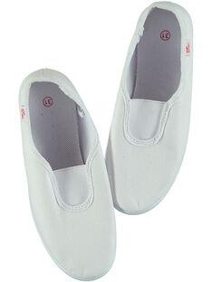 White Ryhtmic slippers GFRYTHMIQ2 / 19WK35B1D09000