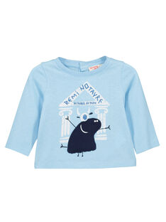 Baby boys' long-sleeved T-shirt FUNETEE1 / 19SG10B1TML020