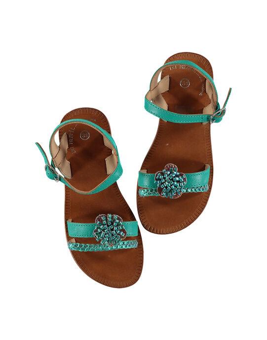 Turquoise Sandal FFSANDLO / 19SK35D6D0E202