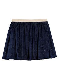 Navy Skirt GANOJUP1 / 19W901V2JUP070